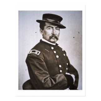 General Philip H. Sheridan (1831-88) (b/w photo) Postcard
