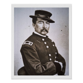 General Philip H. Sheridan (1831-88) (b/w photo) Poster