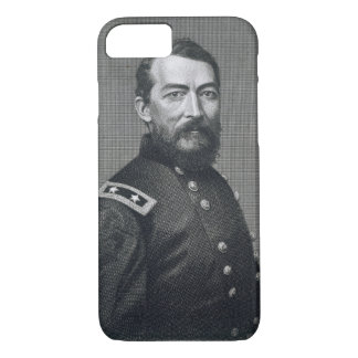 General Philip Sheridan, engraved from a photograp iPhone 8/7 Case