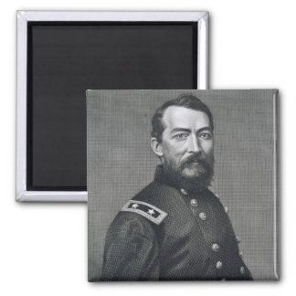 General Philip Sheridan, engraved from a photograp Magnet