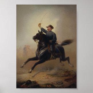 General Philip Sheridan's Ride Painting Poster