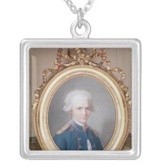 General Pierre Choderlos de Laclos Silver Plated Necklace