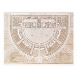 General plan of the salt works in 'ideal city' postcards