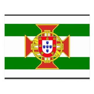 General portugués del gobernador de la colonia, My Tarjeta Postal