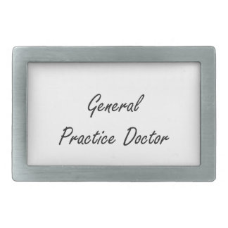 General Practice Doctor Artistic Job Design Belt Buckle