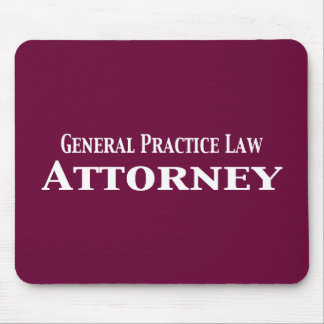General Practice Law Attorney Gifts Mouse Pad