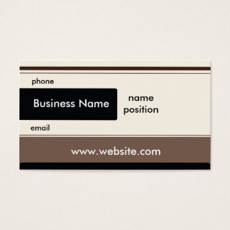 General Purpose Business Card