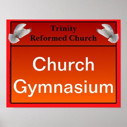 General Purpose Interior Church Signs Print Zazzle