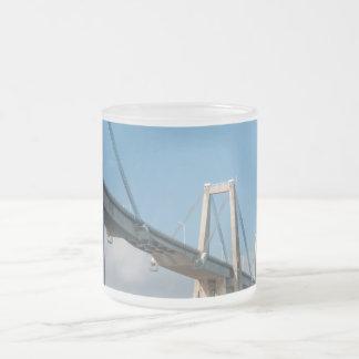 General Rafael Urdaneta Bridge Maracaibo Venezuela Frosted Glass Coffee Mug