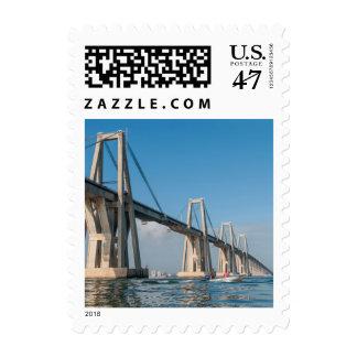General Rafael Urdaneta Bridge Maracaibo Venezuela Stamp