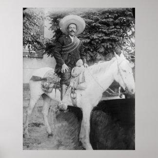 General revolucionario mexicano de Pancho Villa Posters