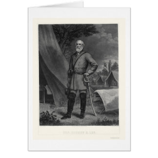 General Robert E Lee 1867 Card