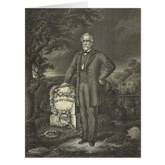 General Robert E. Lee 1869 Card