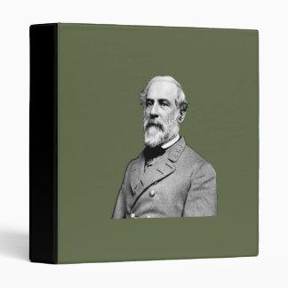 General Robert E. Lee  Army Green Binder