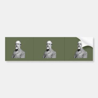 General Robert E. Lee  Army Green Bumper Sticker