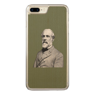 General Robert E. Lee  Army Green Carved iPhone 8 Plus/7 Plus Case
