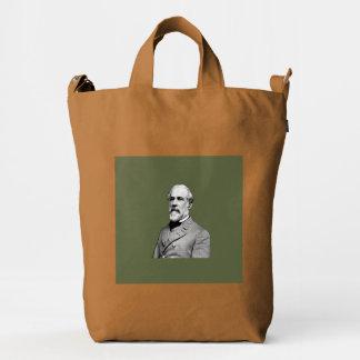 General Robert E. Lee  Army Green Duck Bag
