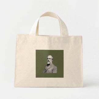 General Robert E. Lee  Army Green Mini Tote Bag