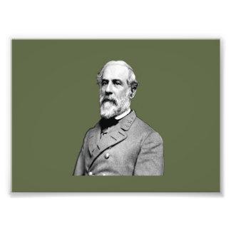 General Robert E. Lee  Army Green Photo Print