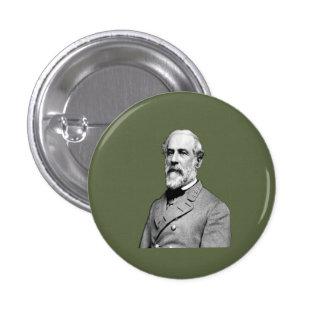 General Robert E. Lee  Army Green Pinback Button