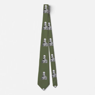 General Robert E. Lee  Army Green Tie