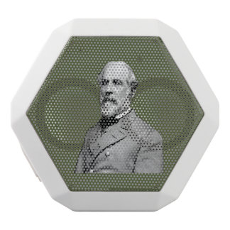 General Robert E. Lee  Army Green White Bluetooth Speaker