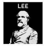 General Robert E. Lee -- Black and White Posters