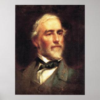 General Robert E. Lee by Edward Caledon Bruce Poster