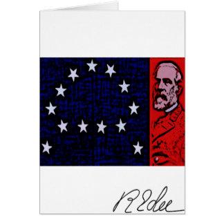 General Robert E. Lee Card