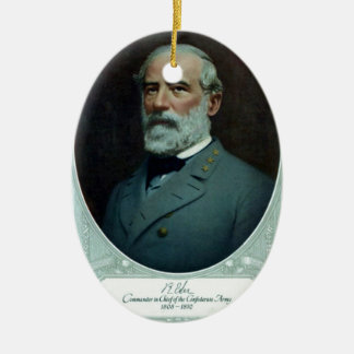 General Robert E. Lee Ceramic Ornament