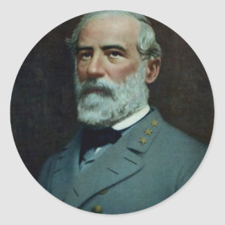 General Robert E. Lee Classic Round Sticker