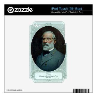 General Robert E. Lee iPod Touch 4G Decals