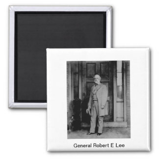 General Robert E Lee Magnet