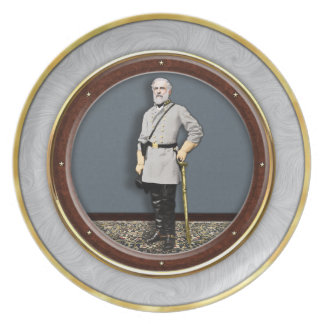 General Robert E. Lee Dinner Plate