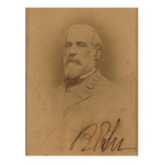 General Robert E Lee Postcard