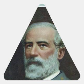 General Robert E. Lee Triangle Sticker