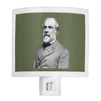 General Robert E. Lee USA Army Green Night Light