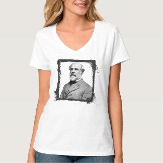 General Robert E. Lee USA Grunge Frame T-Shirt