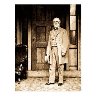 General Robert E. Lee Vintage Mathew Brady Postcard