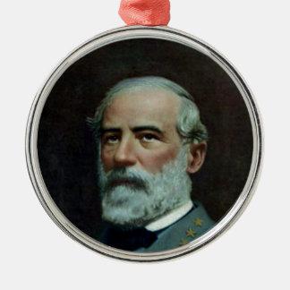 General Roberto E. Lee Adorno Redondo Plateado