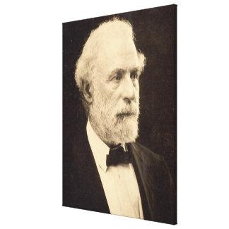 General Roberto E. Lee en 1869 por Michael Miley Impresión De Lienzo
