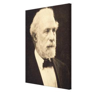 General Roberto E. Lee en 1869 por Michael Miley Impresión En Lona Estirada