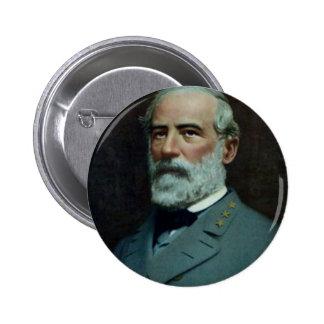 General Roberto E. Lee Pin Redondo De 2 Pulgadas
