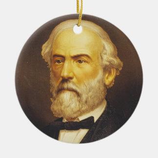 General Roberto E. Lee por el Lith de Strobridge y Adorno Redondo De Cerámica