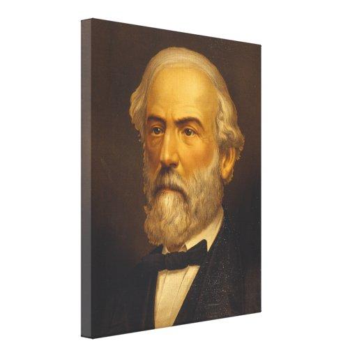 General Roberto E. Lee por Strobridge y Co. Litho Impresiones En Lona Estiradas