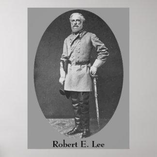 General Roberto E Lee Poster