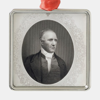 General Samuel Houston Metal Ornament