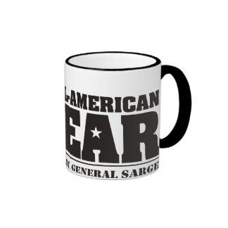 General Sarge All American Bear Mug