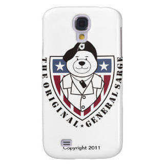 General Sarge iPhone 3 Samsung Galaxy S4 Case