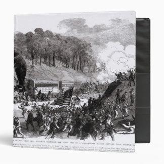 "General Schenck con cuatro compañías Carpeta 1 1/2"""